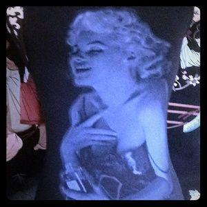 Tops - SOPRANO brand tank shirt w/Marilyn Monroe